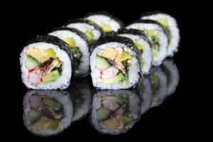 futo maki sushi familie
